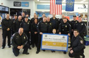 Donations enable children to Shop With A Cop