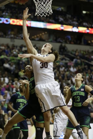 UConn women beat Notre Dame, finish perfect season with title
