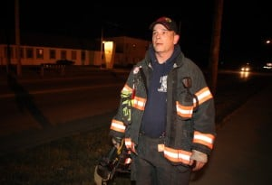 Lake Ridge firefighter suspended after walking from fire scene in full gear