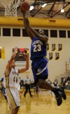 Lake Central's Glenn Robinson III jump