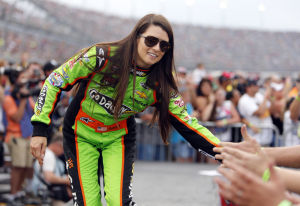 Danica Patrick revs up for ACAs hosting gig