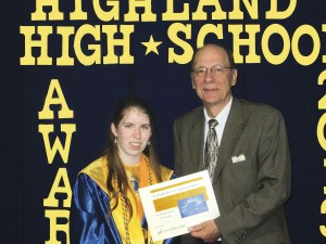 Highland and Valparaiso grads receive scholarships