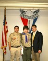 Luther East freshman earns Eagle Scout rank