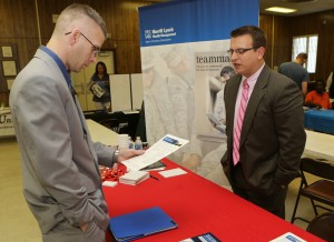 Job fair gives veterans a boost in job search