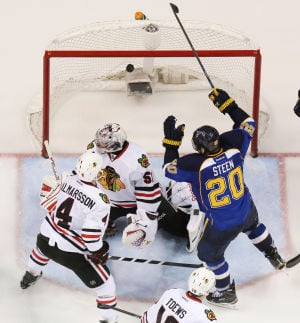 Hawks-Blues ready to battle again after marathon Game 1