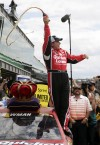South Bend native Ryan Newman triumphs at Brickyard