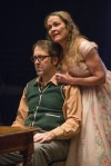 "Actor Ian Barford and Actress Moira Harris in Steppenwolf's ""The Birthday Party"""