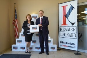 Kramer and Leonard keeps business moving