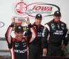 Castroneves wins IndyCar pole at Iowa