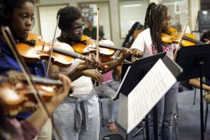 Growing school orchestra one student at a time