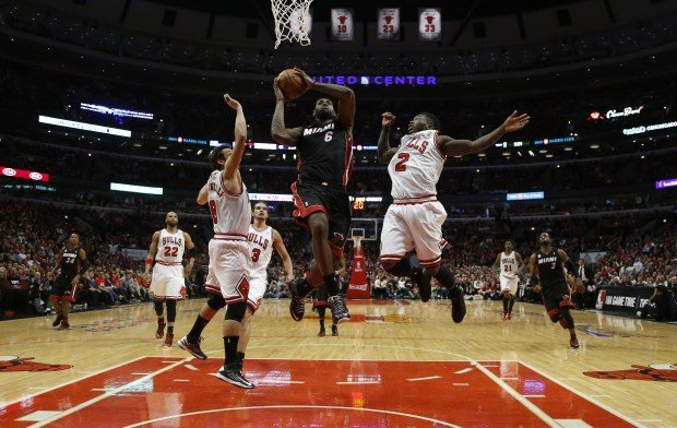 nate robinson block lebron james images