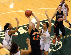 Unbeaten LaPorte girls roll to DAC East basketball tourney title