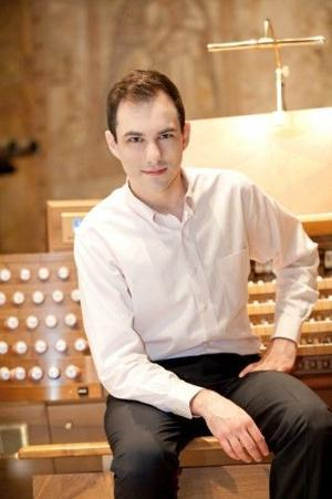 PHIL POTEMPA: Famed young organist Christopher Houlihan performing Wednesday at VU Chapel
