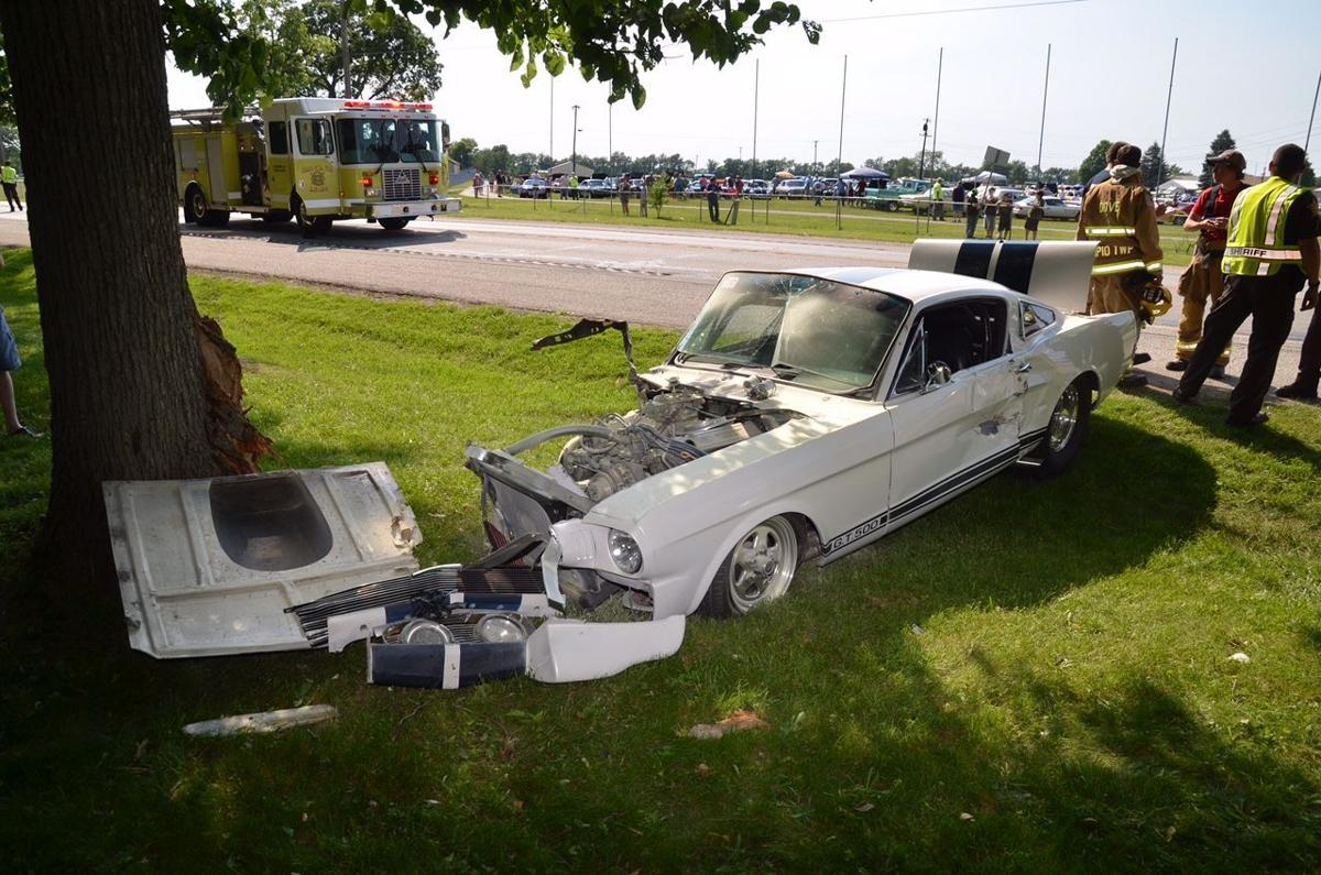 Laporte co man crashes mustang at cruise night laporte county news nwitimes com