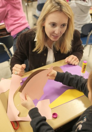 M'ville students get artistic during diversity lesson