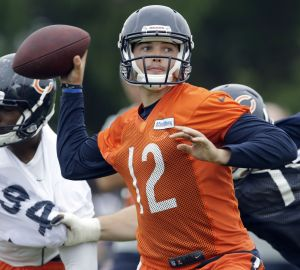 AL HAMNIK: Bears' rookie QB finally gets a shot on center stage