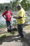 Valpo residents enjoy fishing at Rogers-Lakewood Park