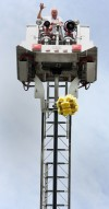 Students compete in the annual Egg Drop Contest