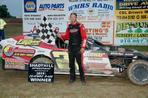 LOCAL AUTO RACING: Nick Allen wins feature race at Shadyhill