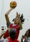 Griner leaves huge impression at U.S. training camp