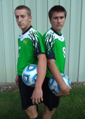 Juniors Connor, Spencer lead soccer resurgence at Morgan Twp.