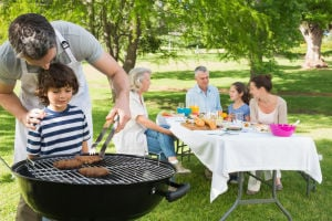 Great grill-outs in the park