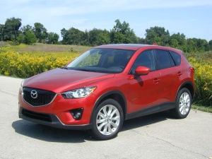 CX-5 suits compact market