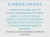 Interact: Domestic violence