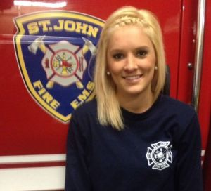 New firefighter dedicated to helping people when they need it most