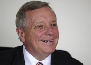 Durbin, Oberweis debate background checks for guns