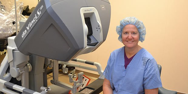 New single-site hysterectomy means less pain and shorter hospital stays