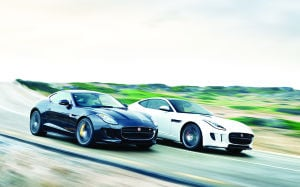Jaguar F-type exemplifies sporty sophistication