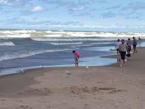 Rip current warning issued for Lake Michigan beaches