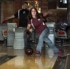 0330BOWLFEATURE,  Cal College bowlers Alice Veenstra and Josh Toth