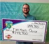 Chesterton father-of-three claims Cash 5 prize