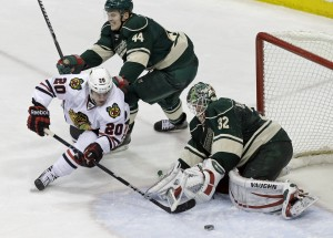Hawks say they can handle increased physical play as Wild series opens