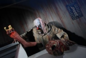 Highland residents stage haunted houses  at home 