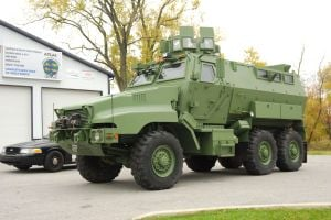 SWAT team obtains armored vehicle