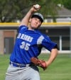 Crete-Monee pitcher Zack Silerzio