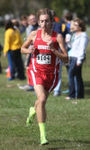 Munster's Ryan Kritzer was the individual champion at Saturday morning's Gavit Sectional.
