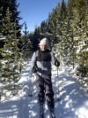 Through the frozen forest: Yellowstone on skis