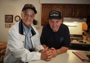 WWII veteran enlists longtime friend for Honor Flight