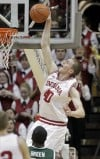 No. 18 Indiana holds off No. 5 Michigan St.