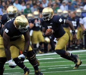 Golson leads Notre Dame to win in season opener