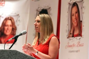 Women share heart health stories at Go Red event
