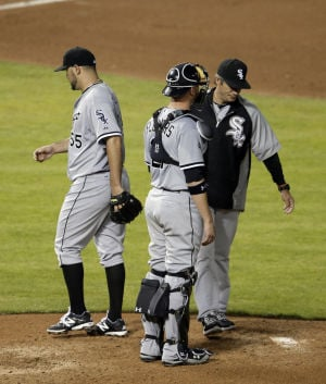 Paulino, White Sox offense struggle in loss