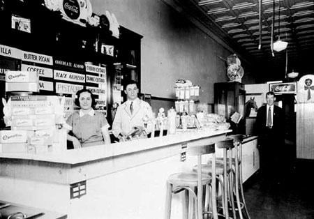 Old fashioned drug store soda fountains missed philip for Old fashioned pharmacy soda fountain