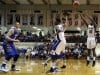Merrillville's B.J. Jenkins sinks a 3-pointer against Carmel on Saturday.