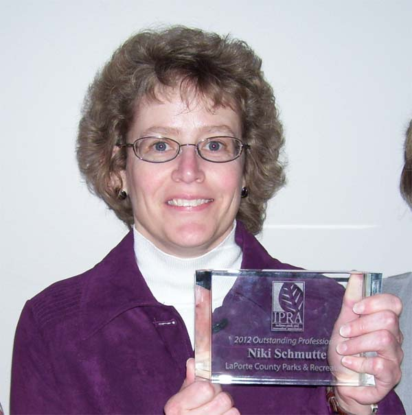 Laporte county parks chief naturalist wins top state award for Laporte newspaper
