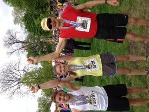 13.1 with Dad: Gratitude for my dad's support and company at the Indy Mini-Marathon